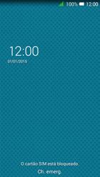 Alcatel Pixi 3 - Primeiros passos - Como ligar o telemóvel pela primeira vez -  3