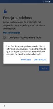 Samsung Galaxy Note 8 - Primeros pasos - Activar el equipo - Paso 13