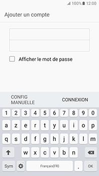 Samsung Galaxy J7 (2016) (J710) - E-mail - Configuration manuelle - Étape 7