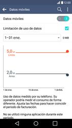 LG K10 4G - Internet - Ver uso de datos - Paso 11