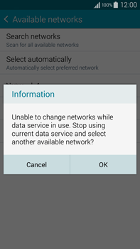 Samsung N910F Galaxy Note 4 - Network - Usage across the border - Step 10