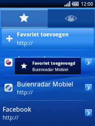 Sony Ericsson Xperia X10 Mini Pro - Internet - Hoe te internetten - Stap 11