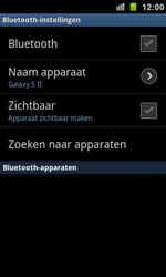 Samsung I9100 Galaxy S II - Bluetooth - koppelen met ander apparaat - Stap 8