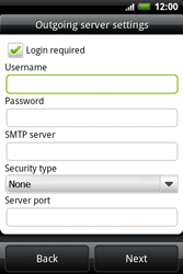 HTC A510e Wildfire S - Email - Manual configuration POP3 with SMTP verification - Step 9