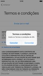 Apple iPhone 6 iOS 9 - Primeiros passos - Como ligar o telemóvel pela primeira vez -  23