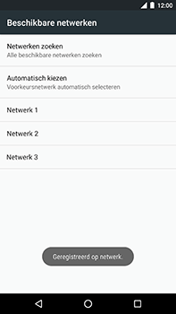 Android One GM5Plus DS - Bellen - in het buitenland - Stap 10