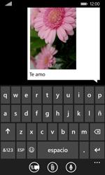 Nokia Lumia 635 - Mensajería - Escribir y enviar un mensaje multimedia - Paso 12