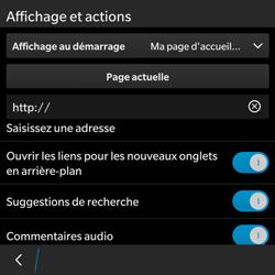BlackBerry Classic - Internet - Configuration manuelle - Étape 19