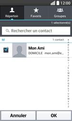 LG F70 - E-mails - Envoyer un e-mail - Étape 7