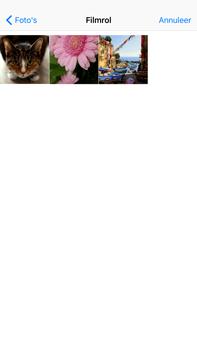 Apple iPhone 6 Plus iOS 9 - MMS - Afbeeldingen verzenden - Stap 10