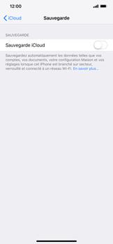 Apple iPhone XR - Données - créer une sauvegarde avec votre compte - Étape 10