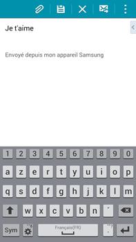 Samsung Galaxy Note 4 - E-mails - Envoyer un e-mail - Étape 17