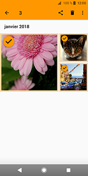 Sony Xperia XZ2 - Photos, vidéos, musique - Envoyer une photo via Bluetooth - Étape 11