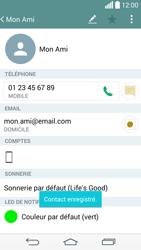LG D855 G3 - Contact, Appels, SMS/MMS - Ajouter un contact - Étape 11