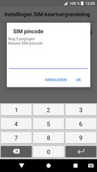 Sony Xperia XZ1 (G8341) - Beveiliging en ouderlijk toezicht - Hoe wijzig ik mijn SIM PIN-code - Stap 8
