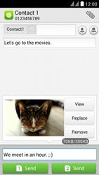 Huawei Y625 - MMS - Sending pictures - Step 14