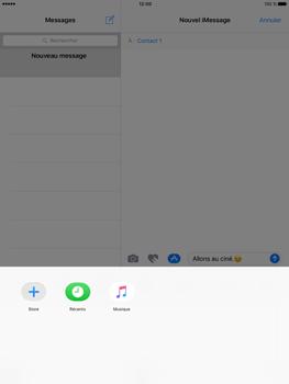 Apple iPad Pro 9.7 - iOS 10 - iOS features - Envoyer un iMessage - Étape 17