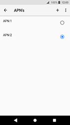 Sony Xperia XA2 - Internet - handmatig instellen - Stap 19