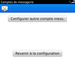 BlackBerry 9780 Bold - E-mail - Configuration manuelle - Étape 10