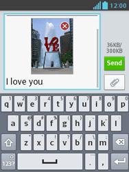 LG E430 Optimus L3 II - MMS - Sending a picture message - Step 16