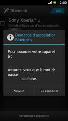 Sony ST26i Xperia J - Bluetooth - connexion Bluetooth - Étape 9
