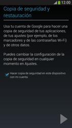 Samsung Galaxy S4 Mini - E-mail - Configurar Gmail - Paso 9