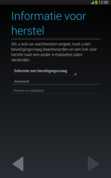Samsung T315 Galaxy Tab 3 8-0 LTE - Applicaties - Account aanmaken - Stap 12