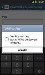 Samsung S7275 Galaxy Ace III - E-mail - Configuration manuelle - Étape 11