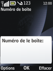 Nokia 2730 classic - Messagerie vocale - configuration manuelle - Étape 7