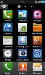 Samsung S8530 Wave II - E-mail - envoyer un e-mail - Étape 2