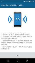 HTC Desire 626 - Internet et connexion - Partager votre connexion en Wi-Fi - Étape 11