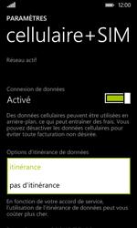 Nokia Lumia 530 - Aller plus loin - Désactiver les données à l'étranger - Étape 6