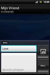 Sony Xperia Mini Pro - MMS - Afbeeldingen verzenden - Stap 8