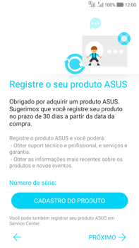 Asus Zenfone Selfie - Primeiros passos - Como ativar seu aparelho - Etapa 19