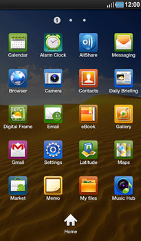 Samsung P1000 Galaxy Tab - Internet - Manual configuration - Step 3