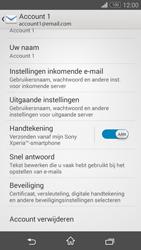 Sony Xperia Z3 4G (D6603) - E-mail - Instellingen KPNMail controleren - Stap 8