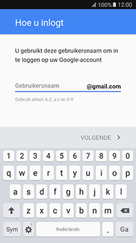 Samsung Galaxy J7 (2016) (J710) - Applicaties - Account aanmaken - Stap 10