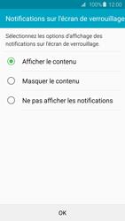 Samsung Galaxy S6 - Sécuriser votre mobile - Activer le code de verrouillage - Étape 11