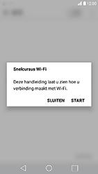 LG K10 (2017) (M250n) - WiFi - Verbinden met een netwerk - Stap 4