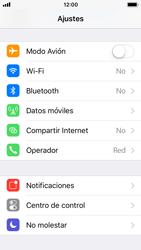 Apple iPhone 5s - iOS 11 - Funciones básicas - Activar o desactivar el modo avión - Paso 3