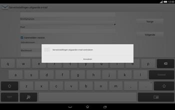 Sony Xperia Tablet Z2 (SGP521) - E-mail - e-mail instellen: IMAP (aanbevolen) - Stap 14