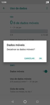 Motorola One - Rede móvel - Como ativar e desativar uma rede de dados - Etapa 7
