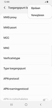 Samsung galaxy-s8-sm-g950f-android-pie - Internet - Handmatig instellen - Stap 17
