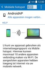 Samsung Galaxy J1 (SM-J100H) - WiFi - Mobiele hotspot instellen - Stap 11