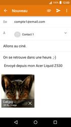 Acer Liquid Z530 - E-mail - envoyer un e-mail - Étape 14