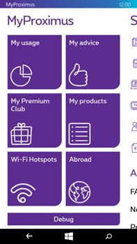 Microsoft Lumia 640 XL - Applications - MyProximus - Step 14