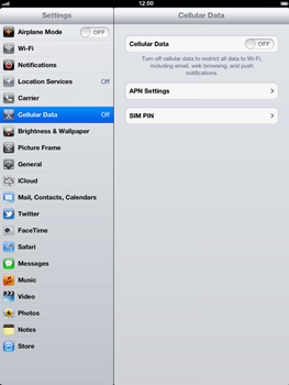 Apple The New iPad - Internet - Manual configuration - Step 4
