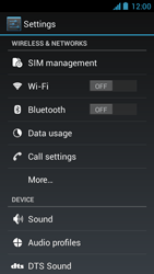 Acer Liquid Z5 - MMS - Manual configuration - Step 4