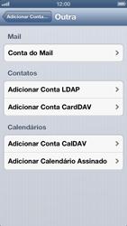Apple iPhone iOS 6 - Email - Como configurar seu celular para receber e enviar e-mails - Etapa 6