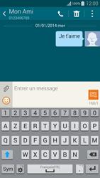 Samsung Galaxy Alpha - Contact, Appels, SMS/MMS - Envoyer un SMS - Étape 11